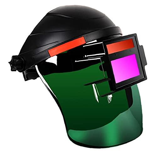 YepYes Soldadura Casco Face Shield Head Montado Ojo Seguridad Protector Plasma Trabajo Plasma Argón Arco Soldador Equipo