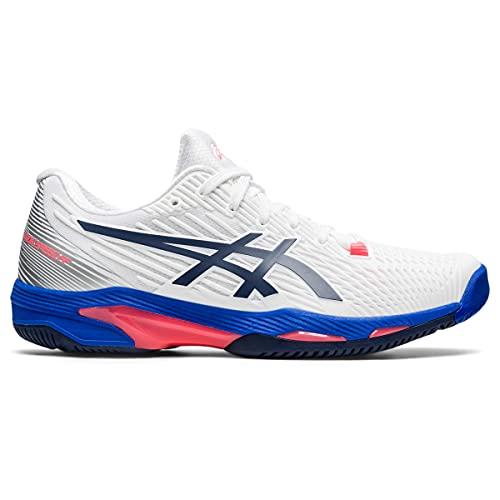 ASICS Solution Speed FF 2, Zapatillas de Tenis Mujer, White Peacoat, 40.5 EU