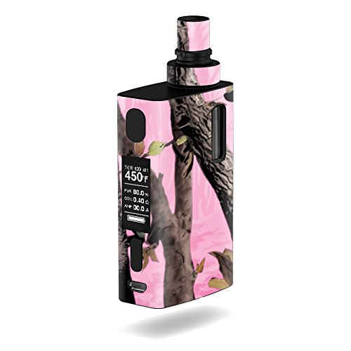 MightySkins Skin Compatible with JoyeTech eGrip 2 II – Pink Tree Camo | Protective, Durable, and Unique Vinyl Decal wrap Cover | Easy to Apply, Remove, and Change Styles | Made in The USA
