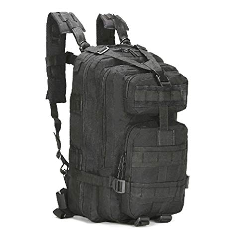 Jipemtra Tactical First Aid Bag MOLLE EMT IFAK Backpack Trauma First Aid Responder Medical Backpack Utility Bag Military Tactical Rucksack Emergency (Black)