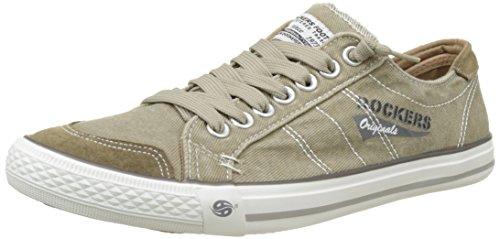 Dockers by Gerli Herren 30ST027 Sneaker - Braun (Sand 450) , 47 EU