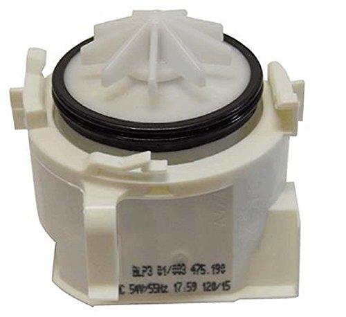 Siemens–Pumpe Rohrreinigungs-Spirale Spülmaschine Siemens BLP301/003475.190–620774