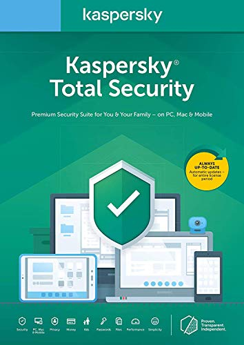 Kaspersky Total Security 2020 | 1 Gerät | 1 Jahr | Box...