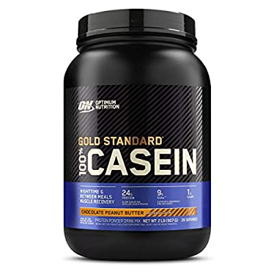 Optimum Nutrition Gold Standard 100% Micellar Casein Protein Powder, Slow Digesting, Helps Keep You Full, Overnight Muscle Recovery