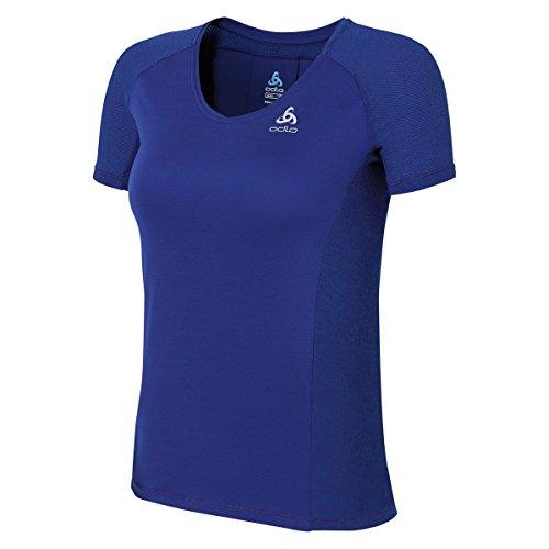 Odlo Crown T-Shirt à Manches Courtes pour Femme M Indigo
