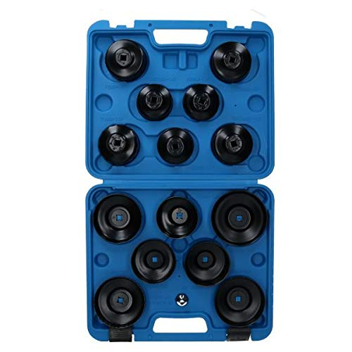 AB Tools-US Pro Clé pour Filtre à Huile Type Coupe Set dépose dépose 65mm - 100mm Kit 15pcs