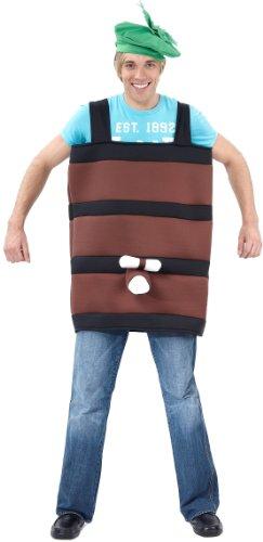 Generique - Costume Botte di Vino Adulti Taglia unicaCostume Botte di Vino Adulti Taglia Unica