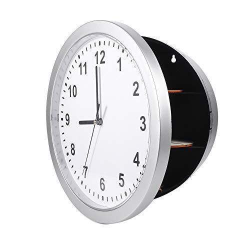 ROSEBEAR Caja de seguridad para reloj de pared, caja de seguridad oculta, para guardar dinero, joyas, objetos de valor