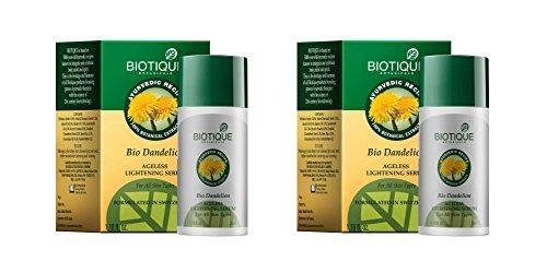 Biotique Bio Dandelion Ageless Lightening Serum - 40ml (Pack of 2) by Commerce India