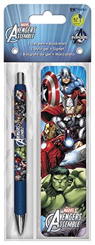 Trends International Avengers Assemble Gel Pen + Bookmark Pack