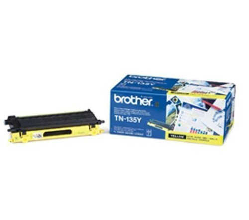 Brother HL 4040CN Toner, High Yield, Gelb TN135Y
