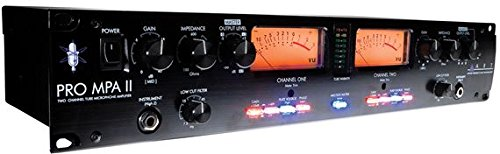 ART ProMPAII Two Channel Discrete Class A Microphone Preamp