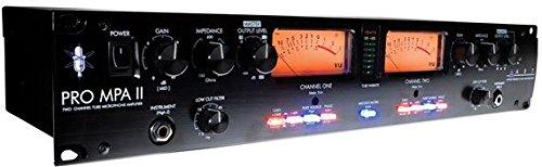 ART ProMPAII Two Channel Discrete Class A Microphone Preamp Equipment Preamps Recording Single-Channel Studio