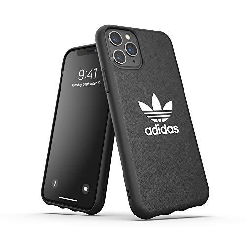 adidas Funda Protectora Originals para iPhone 11 Pro, de TPU, Color Negro