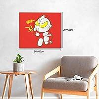 ウルトラマンゼットultraman Z5 ポスター アートパネル 北欧 装飾画 人気 インテリア モダン 玄関、リビングと寝室の飾り壁掛け ソファの背景 キャンバス絵画 50x60cm