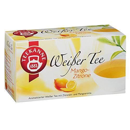 Teekanne Weißer Tee Mango-Zitrone, 20 Beutel, 25g