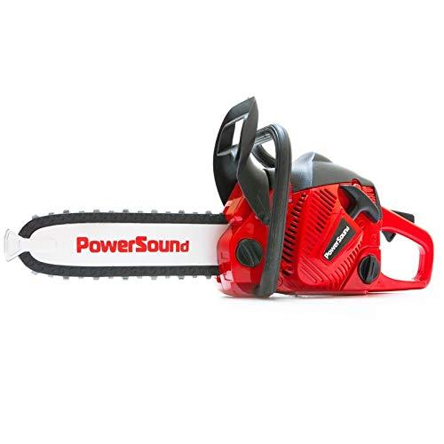 COSMOLINO Toy Chainsaw Power Motosierra con Pilas Sonidos de Movimiento
