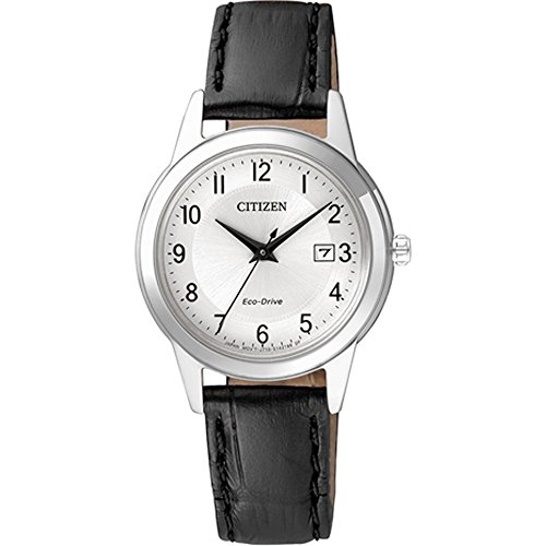 Citizen Damen Analog Quarz Uhr mit Leder Armband FE1081-08A