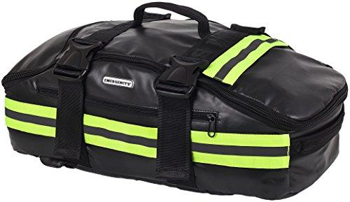 Elite Bags, EMS , Sac à dos trapézoïdal d'urgence, support vital basique, noir