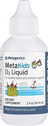 Metagenics MetaKids D3 Liquid Healthy Bone Immune Support 2 275 Servings product image