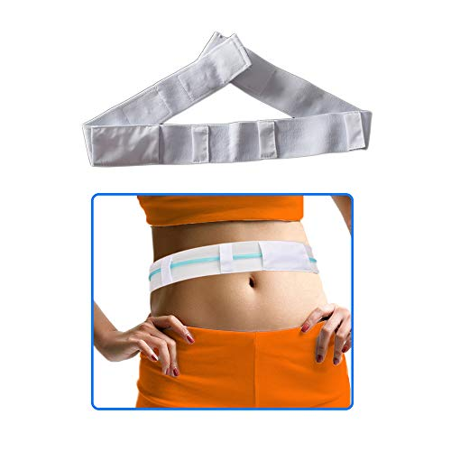 "Peritoneal Dialysis Belt Pd Dialysis Supplies G Tube Holder Drainage Tube Catheter Belt for Stomach G/Peg/J Feeding Tube (29"" - 36.5"")"