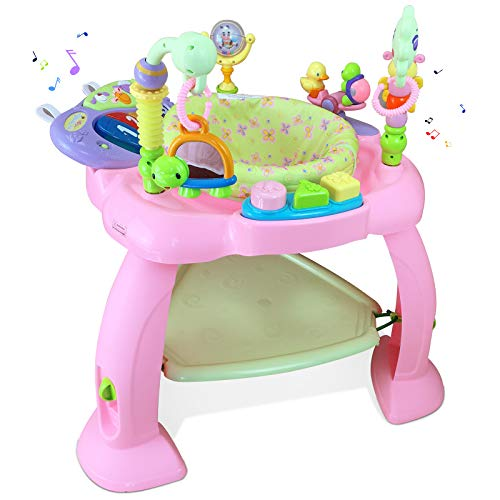 Baby Jumperoo Bouncer Swing Chair (Pink)