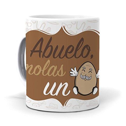 mundohuevo Taza Abuelo, molas un Huevo