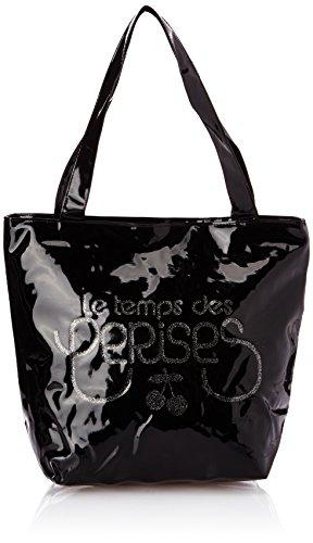 Le Temps des Cerises Rumba 16, Sac porté épaule - Noir (Noir 0100), Taille Unique