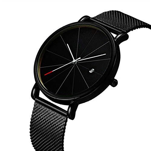 Relojes Simulación De Acero Inoxidable Pantalla Fecha Semana Impermeable Hombres S Hombres De Negocios S Reloj AAA