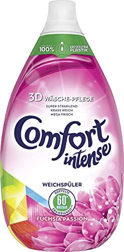 Comfort Intense Weichspüler Fuchsia Passion (für frische Wäsche 60 WL), 2er Pack (2 x 900 ml)