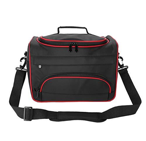Friseursalon Gereedschapskist, draagbare kapperstas, professionele reistas met verstelbare schouderriem, grote capaciteit, make-up tas