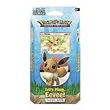 Pokemon TCG: Let's Play, Eevee! Theme Deck, Multicolor