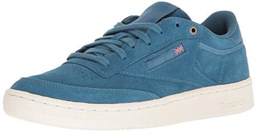 Reebok Club C 85 MCC - Sneaker da uomo, Blu (Multi Fuji/gesso), 46 EU