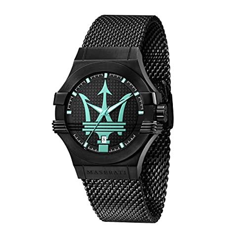 Maserati Aqua Edition Reloj Hombre, De Cuarzo, Tiempo y Fecha - R8853144002