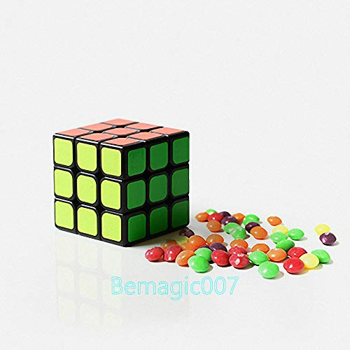 Stage Magic Tricks Cube to Candy, Magic Props,Party Tricks