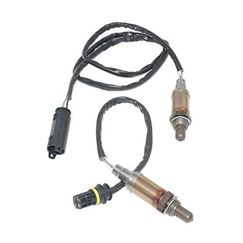 shiyi AP03 2pcs Lambda Oxygen Sensor Fit para BMW 3 5 7 8 Series E36 E60 E31 E38 530I 525i 320i 323i Z3 Z8 X5 X3 E36 E52 E83 1742050