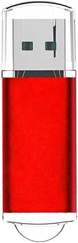 USB Flash Drive 2TB Keqiaai Thumb Drive USB Memory Stick Jump Drive with Indicative Red Light - Light Red