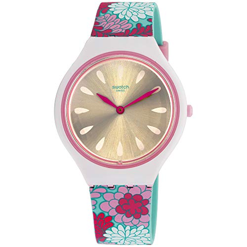 Swatch Skin Skinpivoine - Reloj de pulsera para mujer, correa de silicona