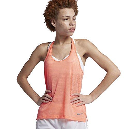 NIKE Miler - Camiseta de Tirantes para Mujer (Talla XL), Color Gris