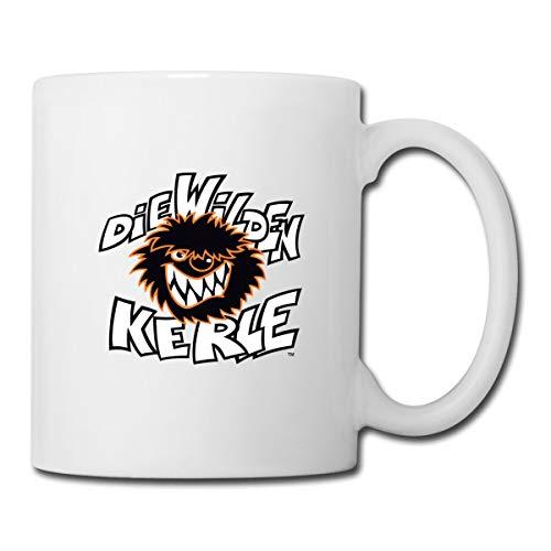 Die Wilden Kerle Logo Tasse, Weiß
