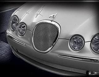 Mesh Grille Insert for Jaguar S-type 1999-2004 Models Bright Stainless or Black