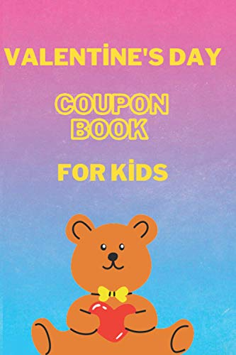 Valentine\'s Day Coupon Book For Kids