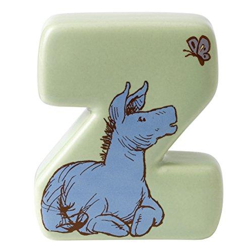 Disney Lettre de l'alphabet A en céramique Motif Winnie l'ourson