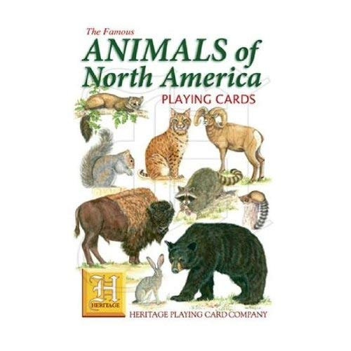 Animals of North America Playing Cards