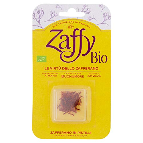 Zaffy Zafferano Biologico in Pistilli - 300mg