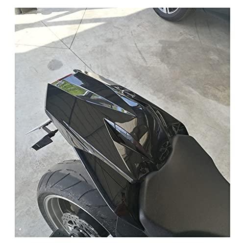 ZHANGWUNIU WUZ Store Motorradöffnung Heckverkleidungssitz Cowl Cover Fit für 2012 2012 2013 2014-2018 Kawasaki Ninja 1000 Z1000SX ZX1000 Grün Schwarz (Color : Black)
