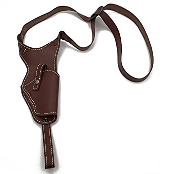 Kingwolfox Tactical Leather Underarm Shoulder Gun Holster Adjustable Concealed Armpit Pistol