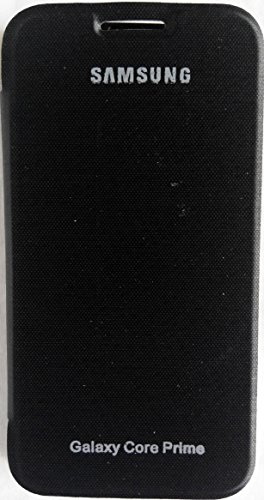 Mstyle Flip Cover Case for Samsung Galaxy Core Prime - Sm -G360(Black)