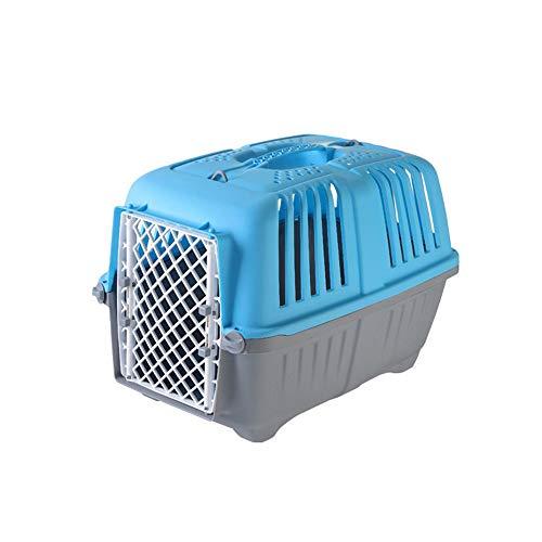 HAOZHI Trasportino per Animali Domestici di Lusso con Manico - Trasportino per Animali Domestici, Trasportatore di Animali Domestici omologato per Cani e Gatti - Ideale per Viaggi in Aereo e in Auto