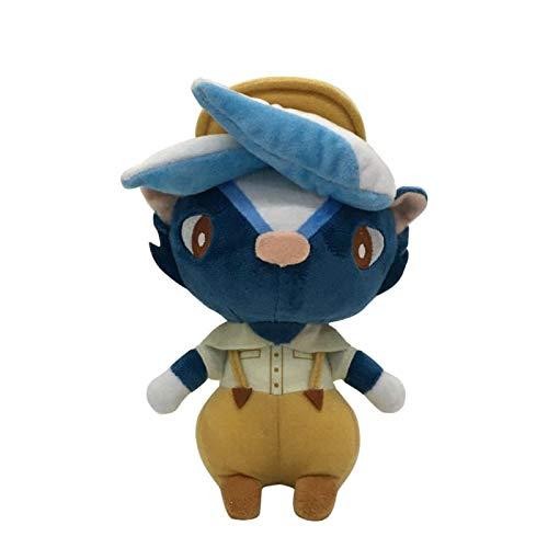 WWWL Peluche Animal Crossing Juguete de Felpa Juego Animal Crossing Mariscal de Felpa Juguete muñeca Regalos para los niños Juguete de Felpa 20cm-Kicks